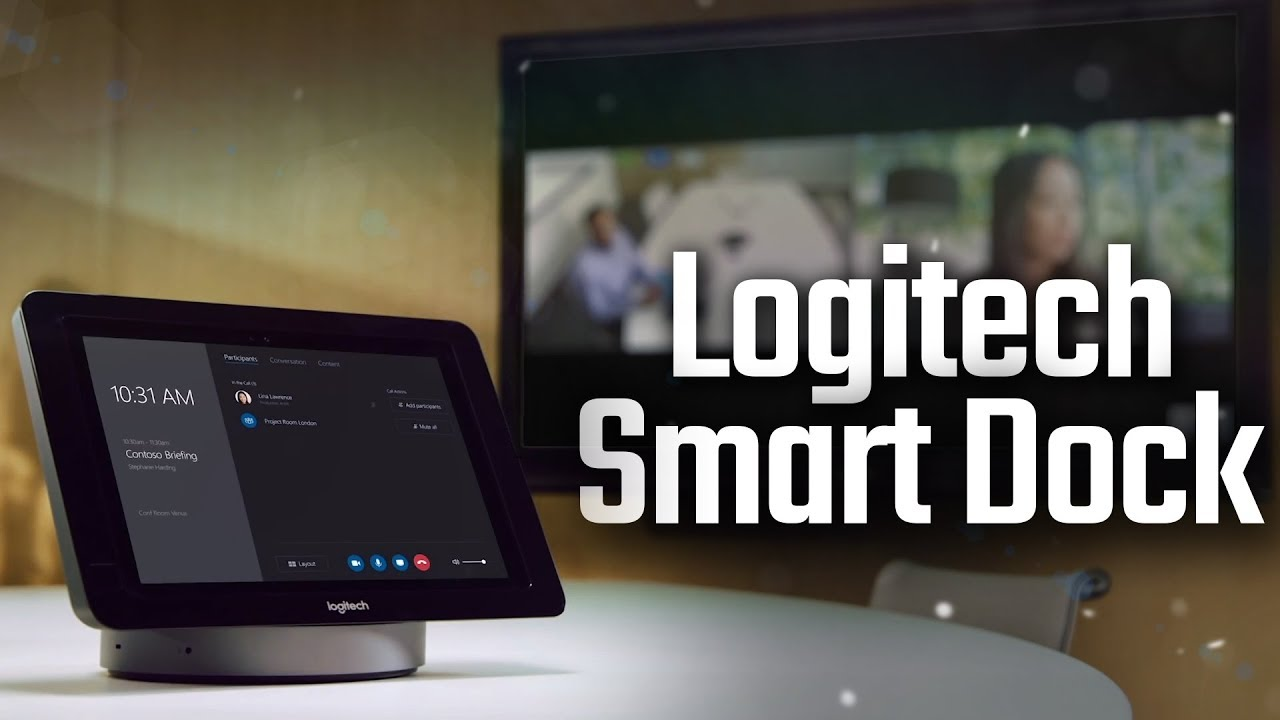 2c284d0b275 Logitech Smart Dock + Meetup Camera - Hands On Review - YouTube