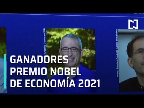 Anuncian Premio Nobel de Economía 2021 - Las Noticias con Carlos Hurtado