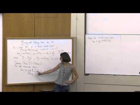 Perla Sousi at Technion - mathematics lecture 1