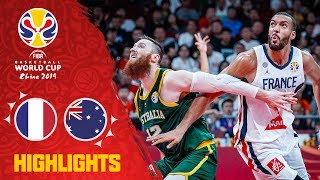 France v Australia - Highlights - 3rd Place - FIBA Basketball World Cup 2019