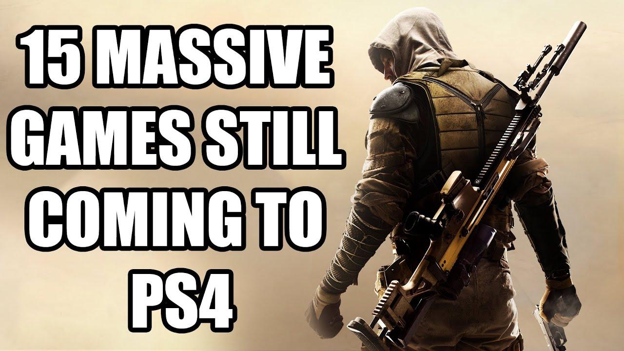 15 MASSIVE Games Still Coming To PS4 - GamingBolt