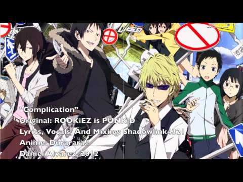 ENGLISH Complication Durarara!!