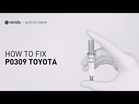 How to Fix TOYOTA P0309 Engine Code in 3 Minutes [2 DIY Methods / Only $4.49]