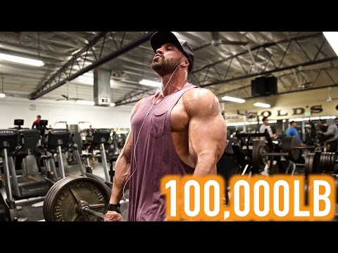 100,000LB SHOULDER WORKOUT CHALLENGE