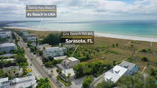 Siesta Key Beach Front Condo For Sale - Sarasota, FL - Real Estate Video