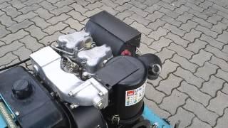 видео Двигатель Hatz 1D50