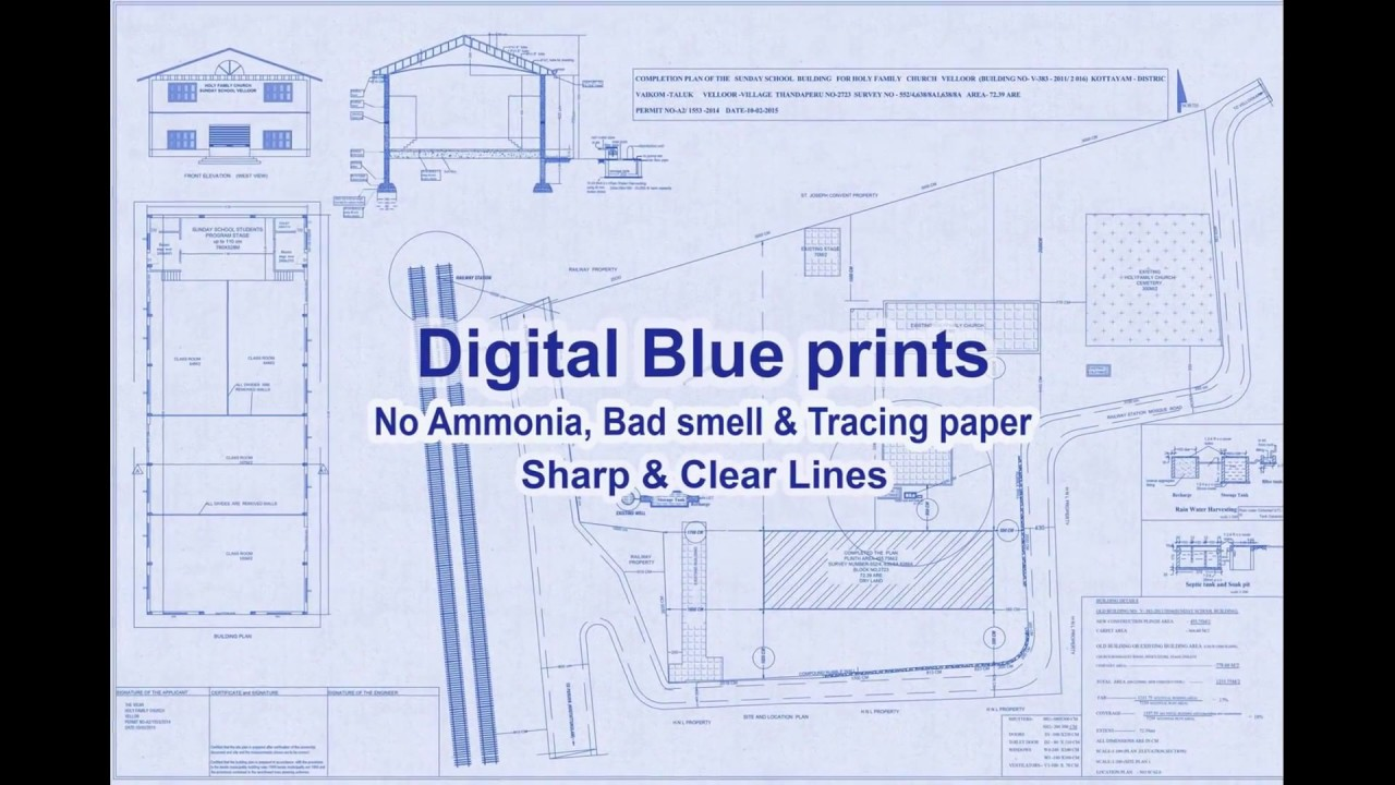 Digital blueprint form a large format inkjet printer youtube digital blueprint form a large format inkjet printer malvernweather Images