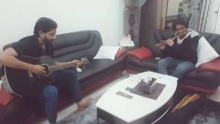 Gulabi Aankhen - Guitar/Flute Cover by Fahmil Khan and Hari Shankar