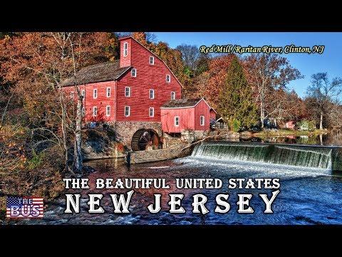 USA State of New Jersey Symbols / Beautiful Places / Song NEW JERSEY, USA w/lyrics
