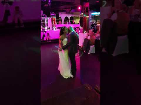 Mr & Mrs Shelton's First Dance at Palm Beach Wellingborough