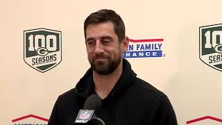 #Packers QB Aaron Rodgers' postgame press conference #GBvsWAS