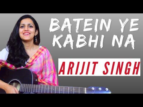 Baatein Ye Kabhi Na Guitar Chords Lesson | Khamoshiyan | Simple Guitar Lesson