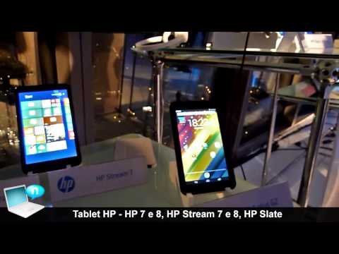 Tablet HP 7 G2, HP 7 Plus G2, HP 8 G2, HP Stream 7, HP Stream 8, HP Slate 8 Plus, Slate 10 Plus
