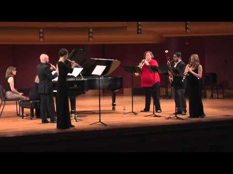 Poulenc: Sextet for Piano and Wind Quintet FP 100 - I. Allegro vivace