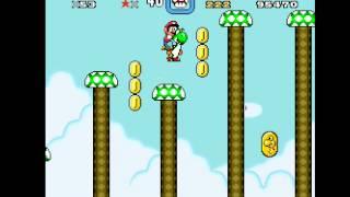 Super Mario World - World 04 - Butter Bridge 1