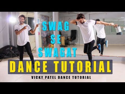 Dance Tutorial Swag Se Swagat | Step By Step | Bollywood HipHop | Vicky Patel Choreography