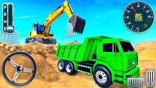 City Road Builder Construction 2021 - Long Highway Excavator Vehicles Simulator - Android GamePlay screenshot 2