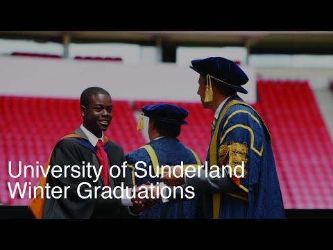 University of Sunderland Winter Graduation - 27/11/2015 3pm