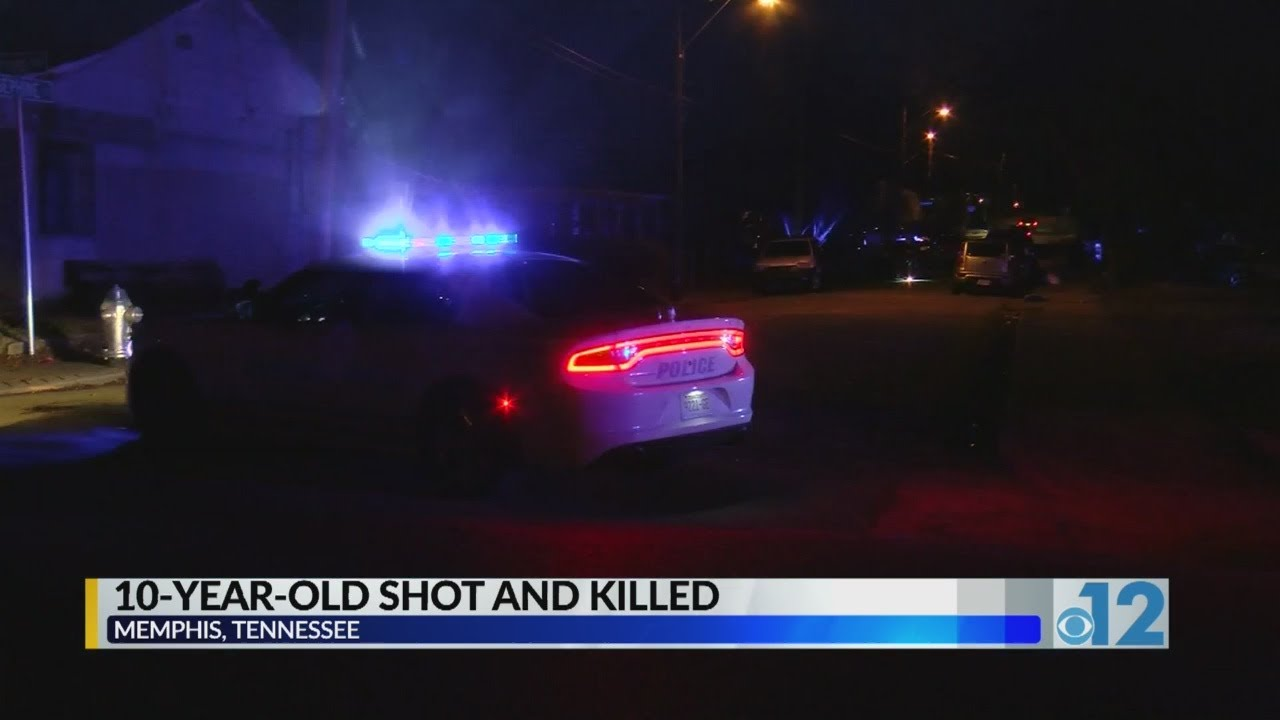 10-year-old shot and killed in Memphis