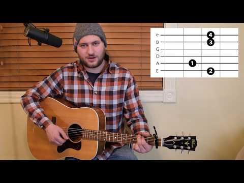 Most People Are Good - Luke Bryan - Guitar Lesson - Beginner / Intermediate - Intro / Verse / Chorus