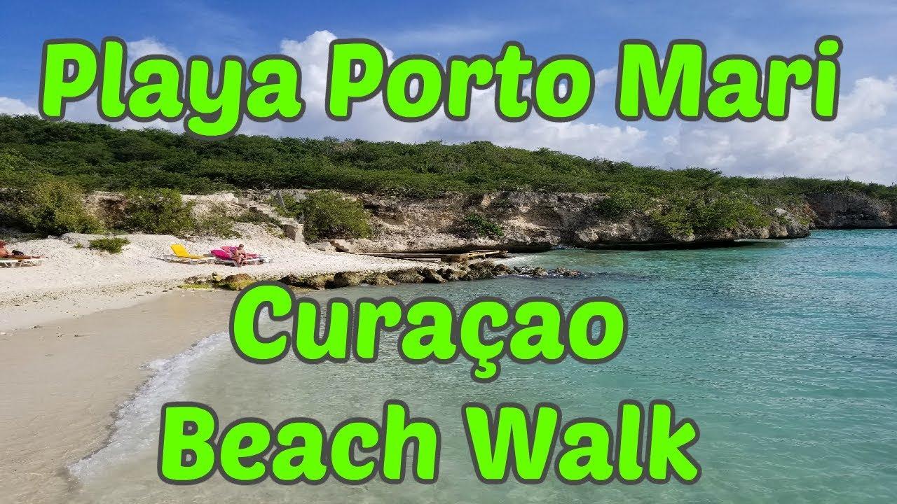 Playa Porto Marie Curaçao BEACH WALK