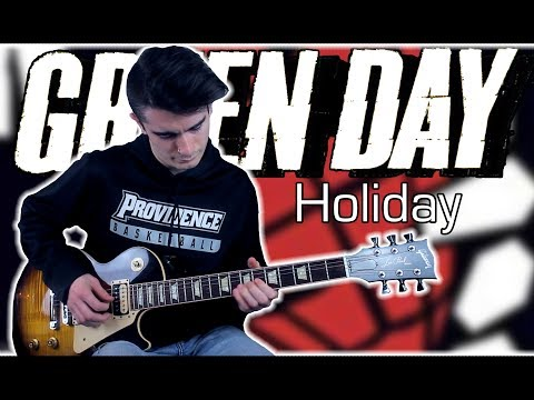 Green Day - Holiday (Guitar & Bass Cover w/ Tabs)