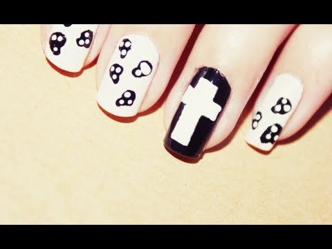 Uñas Hipster - Hipster Nails - YouTube