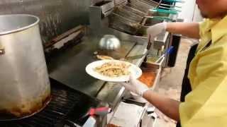 Feature Dish-lemon Butter Sauce Grilled Catfish And Shrimp