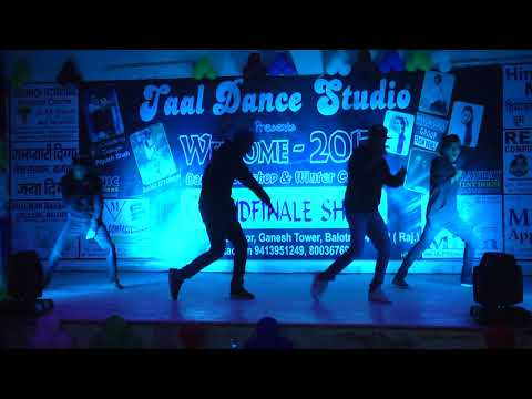 Taal Dance Studio Winter Grand Show Boys  Group Performance  2017