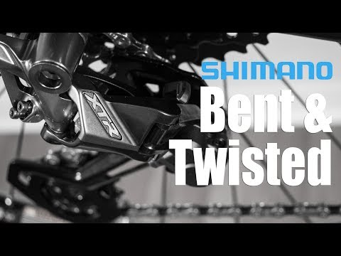 Shimano XTR M9100 Derailleur BENT And Twisted???