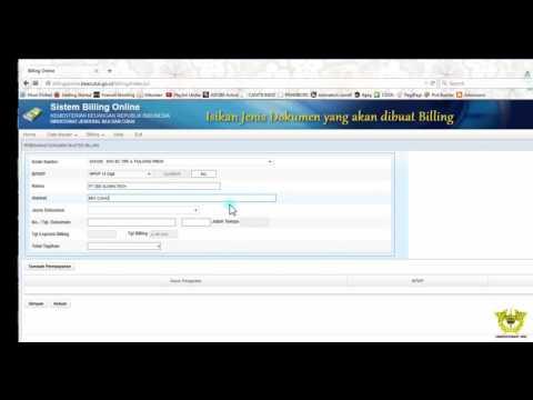 Sistem Billing Online Portal Pengguna Jasa DJBC Ver 1.0  [PART 1]