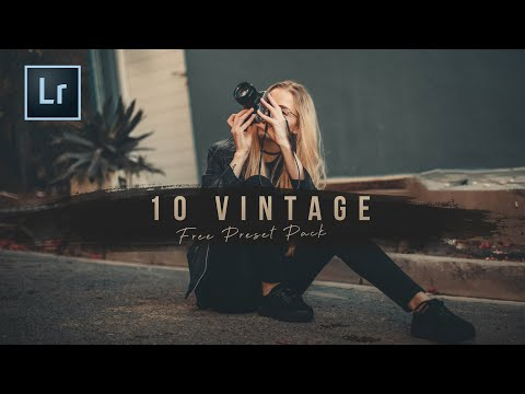 10 Free Vintage Presets | Free Presets Bundle for all your devices | FREE LIGHTROOM PRESETS EP 01
