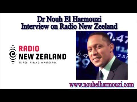 Interview of Nouh El Harmouzi on New Zealand Radio