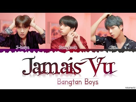 BTS (방탄소년단) - 'Jamais Vu' Lyrics [Color Coded Han_Rom_Eng]