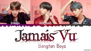 Gambar cover BTS (방탄소년단) - 'Jamais Vu' Lyrics [Color Coded Han_Rom_Eng]