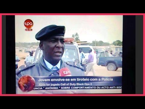 Jovem joga Call of Duty e ataca Policias (PT- de Angola)