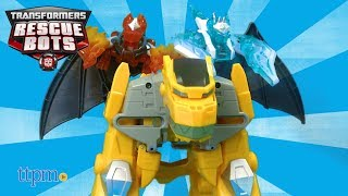 Transformers Rescue Bots Knight Watch Bumblebee from Hasbro