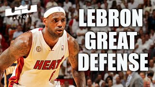 How Great Was LeBron James on Defense? Better Than Jordan.