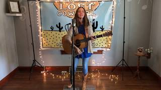 """Touch of Blue"" by Kristin Hamilton in Lost Cowgirl Records Studio"