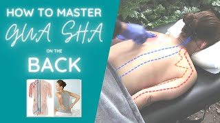 How to properly do a Gua sha treatment on the back!