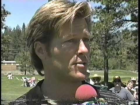 Jack Wagner Craig Sager Interview Celebrity Golf TNT
