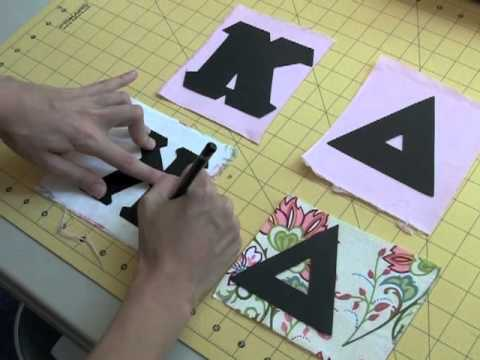 how to make greek letter shirts youtube