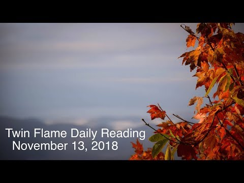 Twin Flame Daily Reading - November 13 - DM Feeling Must Take Chance; Message to DF