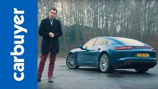 Porsche Panamera hatchback 2017 review - Carbuyer(Porsche Panamera 2017 review: http://carbyr.uk/2fHmnrO Watch our latest video: http://bit.ly/carbuyervideos The second generation Porsche Panamera ..., 2016-12-20T16:49:15.000Z)