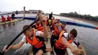 """Соревнования по гребле на лодках класса """"Дракон"""" на День молодежи в г.Владивосток"""