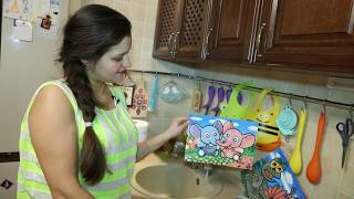 Коврик для рисования водой   Fissman 0642 ( Гусеница)