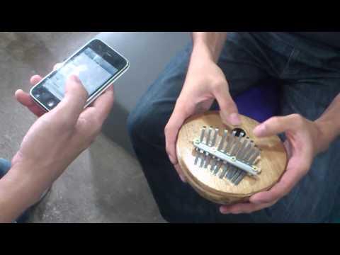 iPhone's Xylophone Ringtone on Kalimba