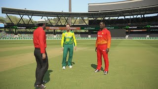 South Africa vs Zimbabwe 3rd T20 highlights 14th October 2018 Ashes cricket 17 gameplay