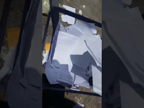 VIU | Currículos jogados no lixo por empresa offshore em Macaé