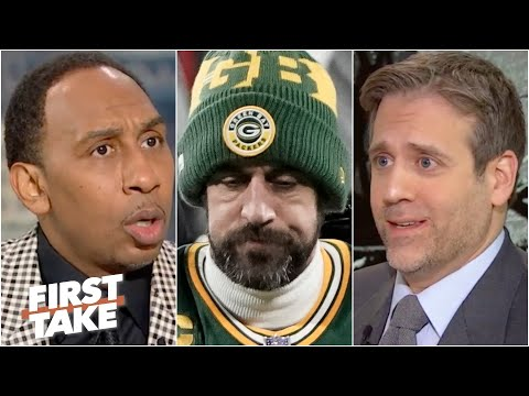 'Aaron Rodgers choked!' - Max shocks Stephen A. with Bucs vs. Packers opinion | First Take